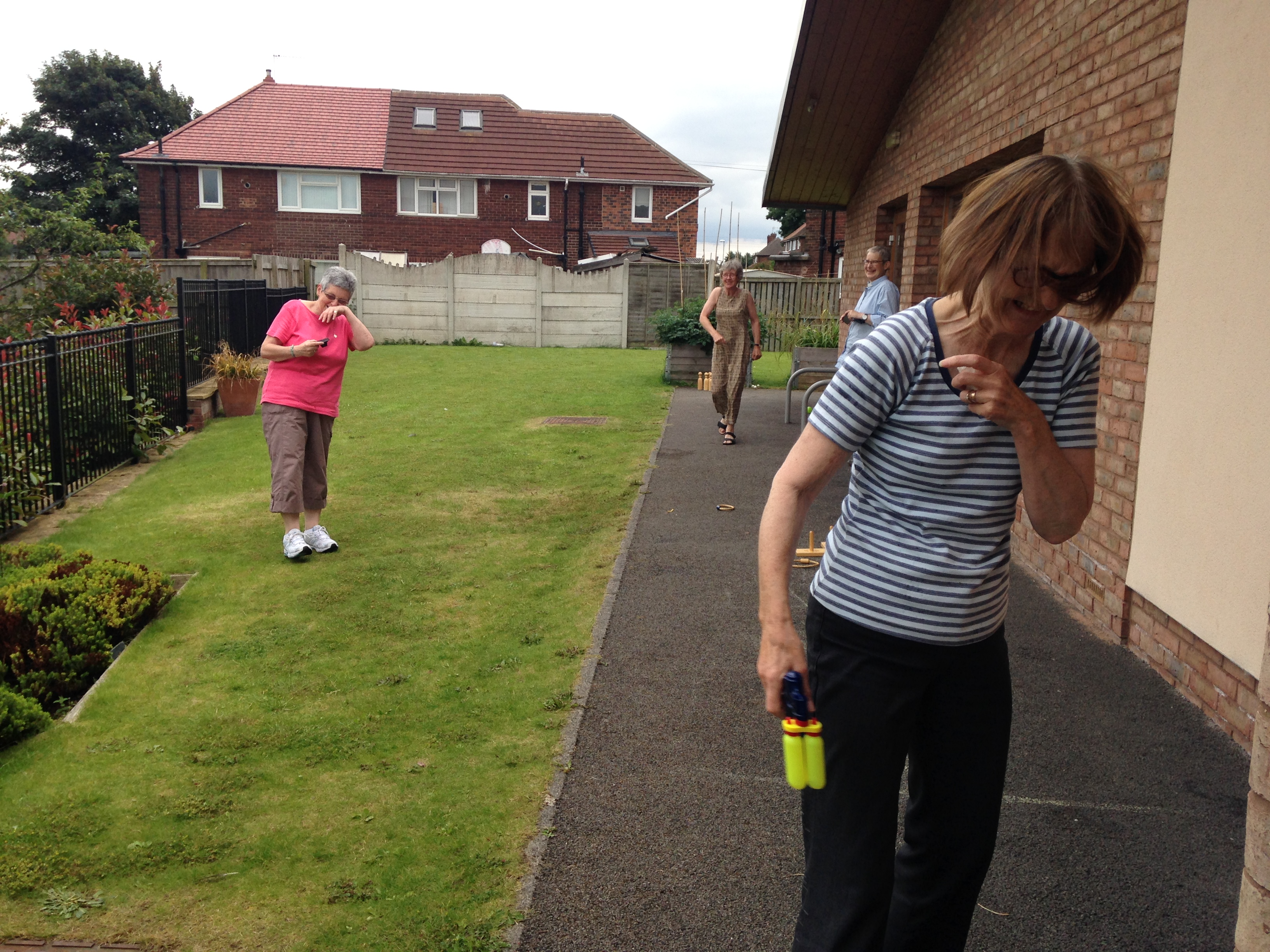 Fun and games outside